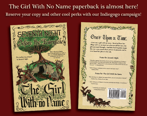 The Girl With No Name paperback on Indiegogo